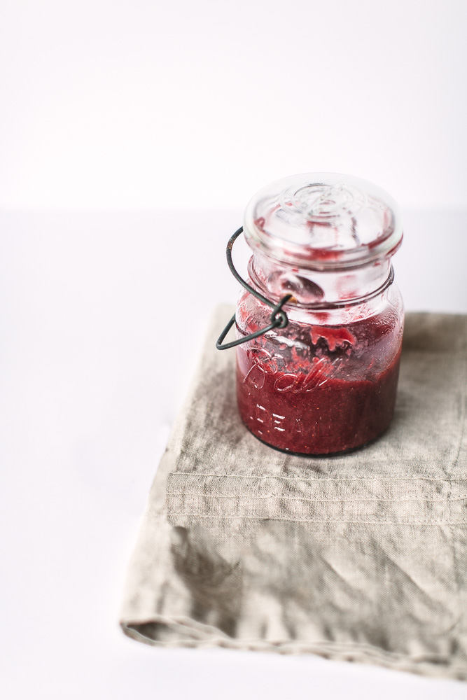 Handmade Holiday Gift Idea Winter Berry Jam